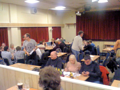 Curry and Quiz Night at Enderby Social Club