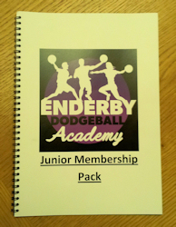 Enderby Dodgeball Junior Welcome Pack