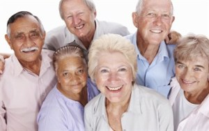 Group of senior citizens