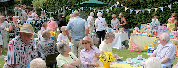 Guests at previous year's Blooming Great Tea Party