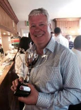 enderby band simon gresswell with trophy