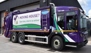 Refuse Collection wagon