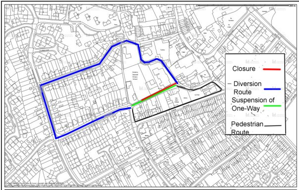 george street closure plan