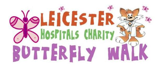 Leicester 'Butterfly Walk'