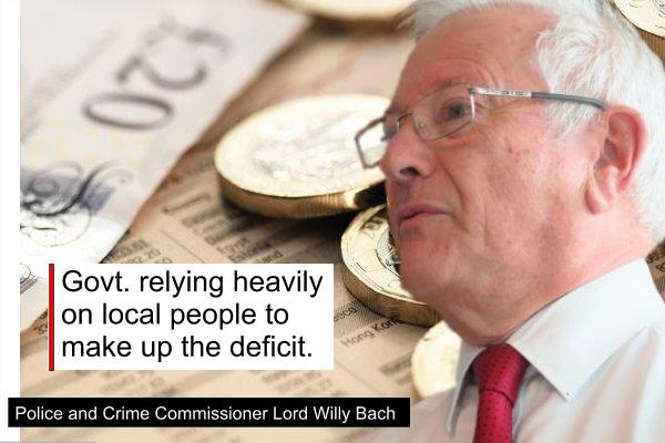 "PCC Lord Willy Bach ""Govt. relying heavily on local people to make up deficit"""
