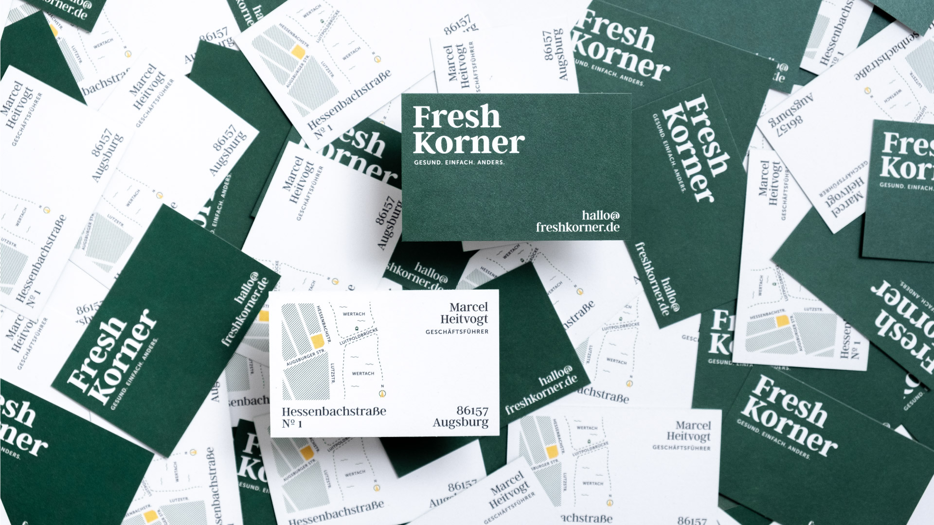 Endformat Designstudio. Design in Konstanz am Bodensee. Fresh Korner-Corporate Design