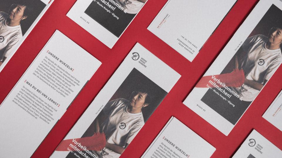 Endformat Designstudio. Design in Konstanz am Bodensee-Wushu Taichi Akademie-Corporate Design