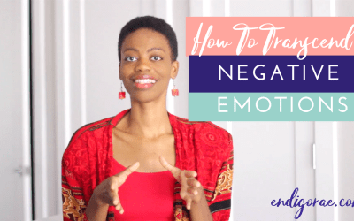 How To Transcend & Overcome Negative Thoughts & Emotions (vibes)
