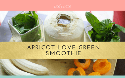 Apricot Love Green Smoothie