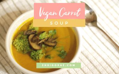 Delicious Vegan Carrot Soup