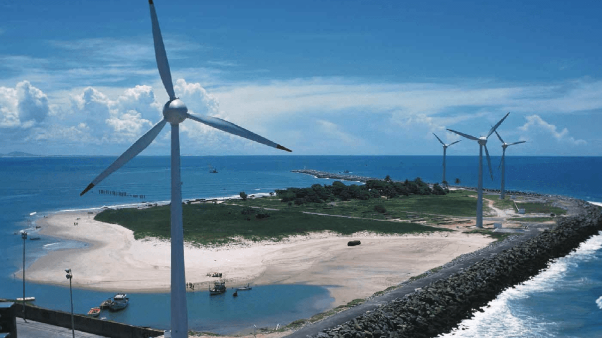 First wind farm commissioning in Brazil