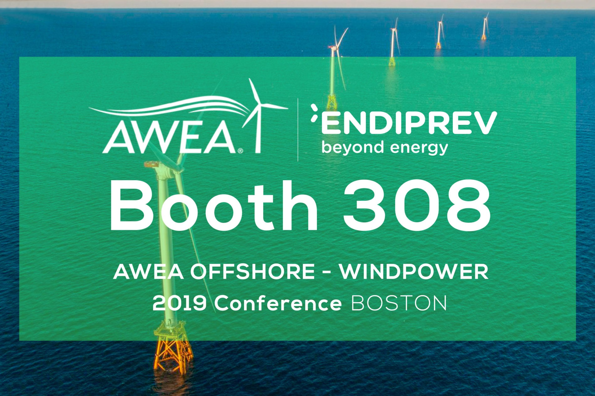 Endiprev at AWEA Offshore WINDPOWER 2019 Conference in Boston