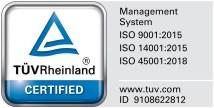 Endiprev Management System Certification 2019
