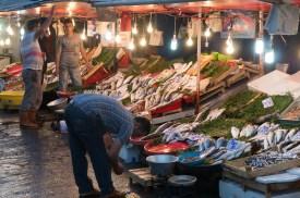 Fischmarkt in Beyöglu