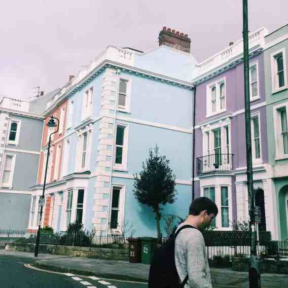 The surprise pastel houses of Plymouth