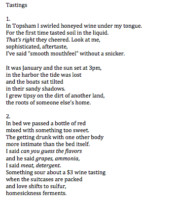Intimate Poems 2
