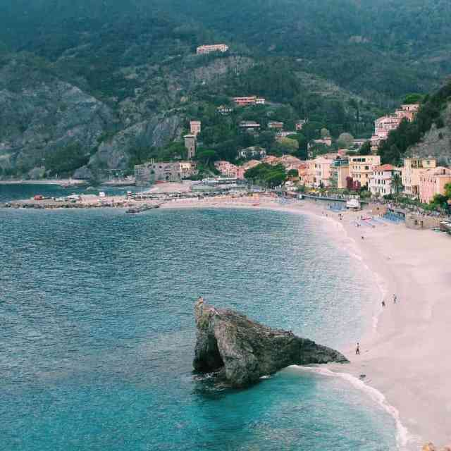MONTEROSSO  Of the five Cinque Terre villages this washellip