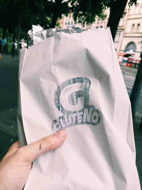 Gluteno takeaway panini: If you're finding yourself hungry in Hungary, read this ultimate guide to gluten free Budapest! Including 100% gluten free Budapest restaurants and more.