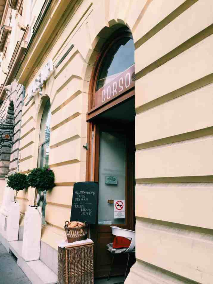 Corso: If you're finding yourself hungry in Hungary, read this ultimate guide to gluten free Budapest! Including 100% gluten free Budapest restaurants and more. #hungary #glutenfree #glutenfreetravel #budapest #glutenfreebudapest