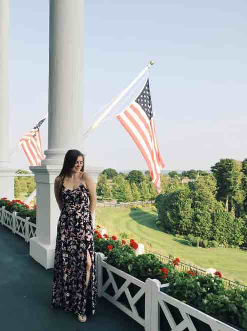 Read this guide for everything you need to know for your vist to the Grand Hotel Mackinac Island - one of the best hotels in the world! #grandhotel #grandhotelmackinac #mackinac #mackinacisland #michigan #puremichigan #travel