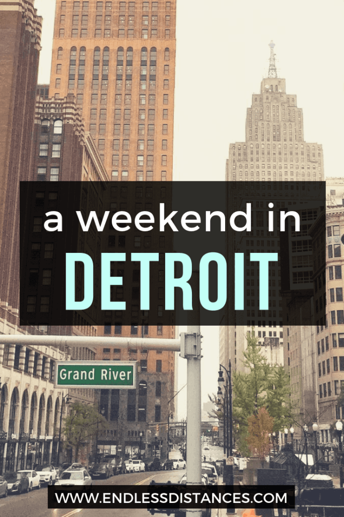 After celebrating a perfect weekend in Detroit I have all the best tips for your own weekend in Detroit: from outdoor art to best brunches and more! #Detroit #PureMichigan #Michigan #Travel