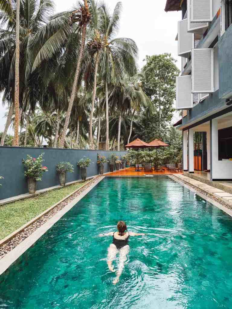 A complete review of Jasper House Sri Lanka. This open air boutique hotel is located in stunning Hiriketiya Beach, hidden away on Sri Lanka's south coast. #jasperhousesrilanka #jasperhousehiriketiya #hiriketiyabeach #hiriketiyasrilanka #srilankahotels