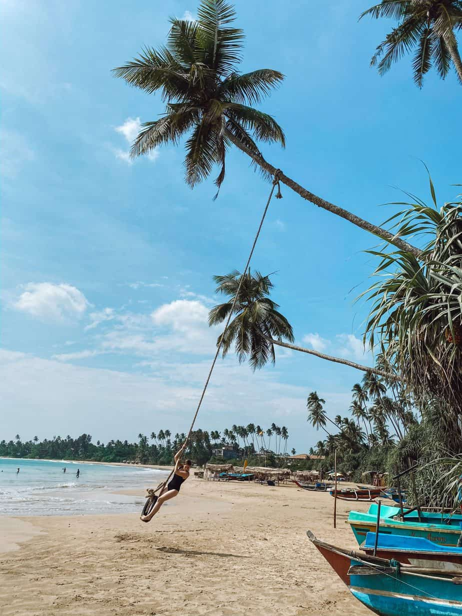 A complete guide to Hiriketiya Beach Sri Lanka, the south coast surfing bay. But Hiriketiya is more than surfing! Here are 15 things to do in Hiriketiya. #hiriketiyabeach #hiriketiyabeachsrilanka #thingstodoinhiriketiya #srilankasouthcoast