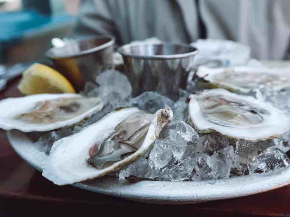 Oysters at Eventide Oyster Company