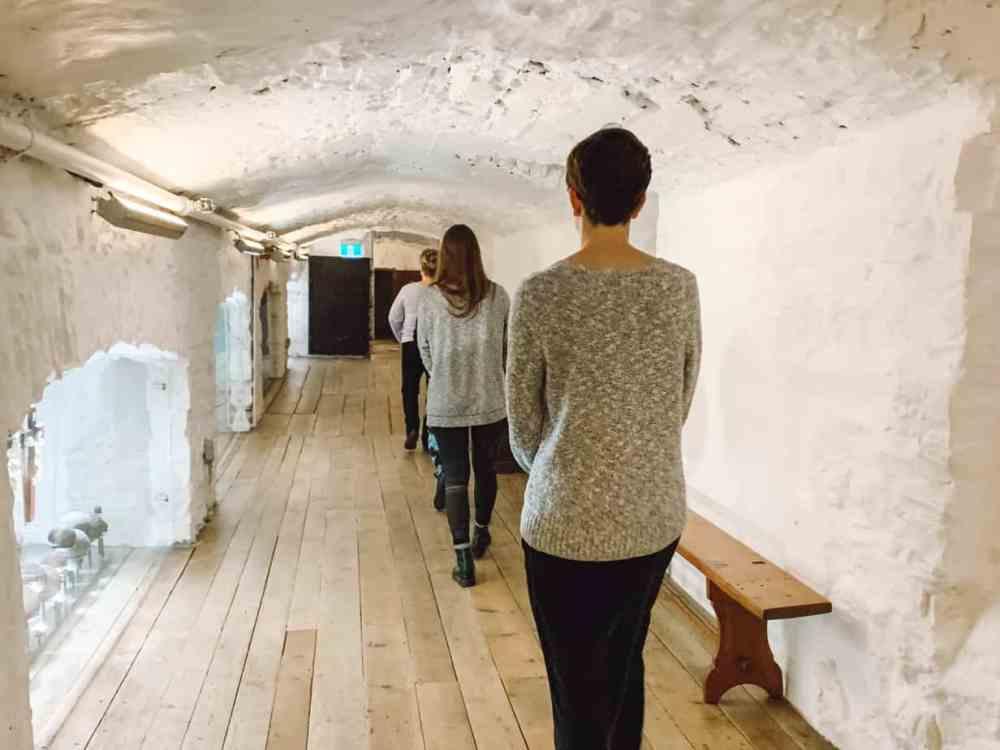 Meditation walk at Le Monastere des Augustines