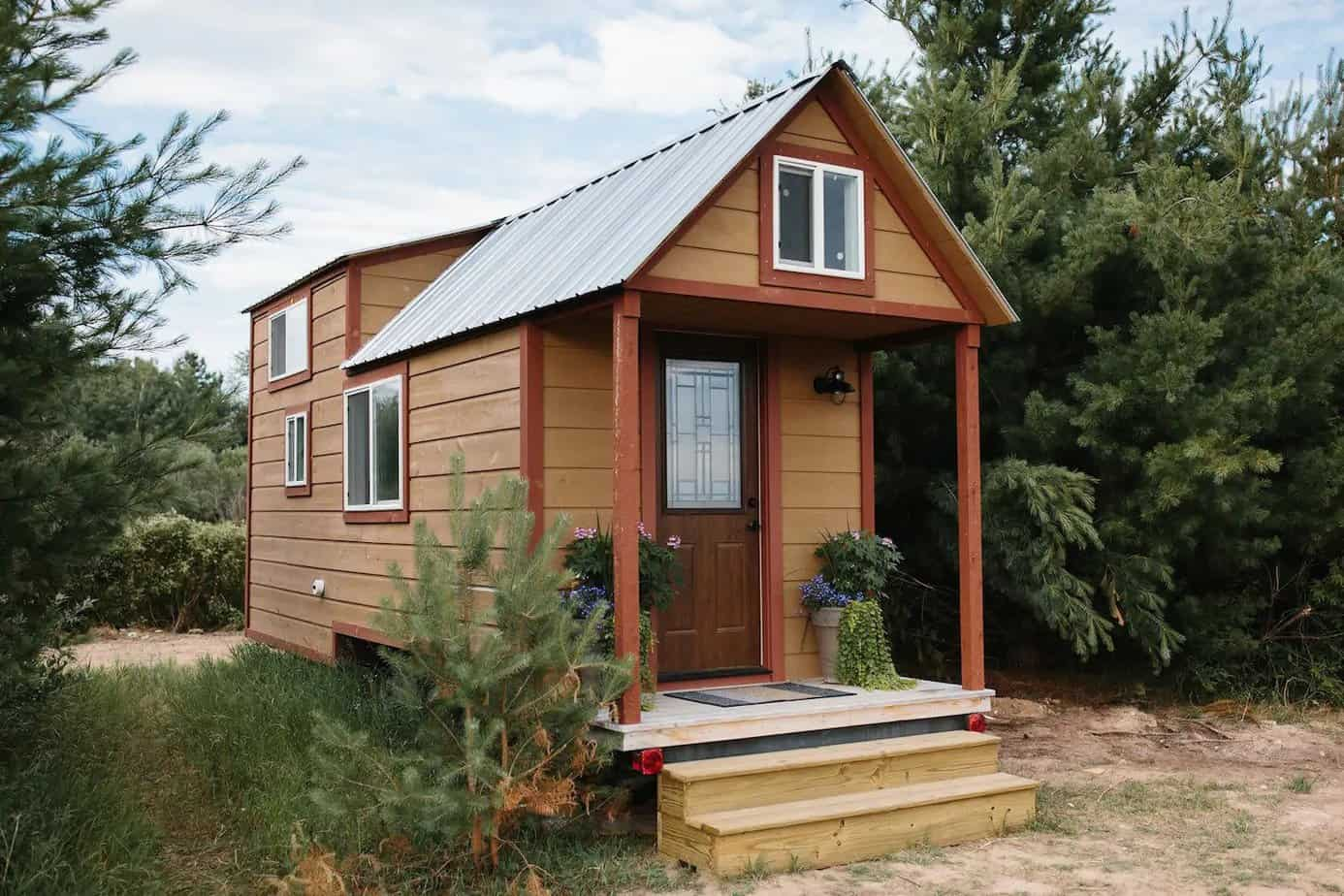 A tiny house in Petoskey