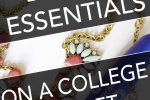 Beauty essentials on a college girl's budget! No more going to Sephora and Ulta and feeling bad because you can't afford anything. Click through to find out what the essentials are!