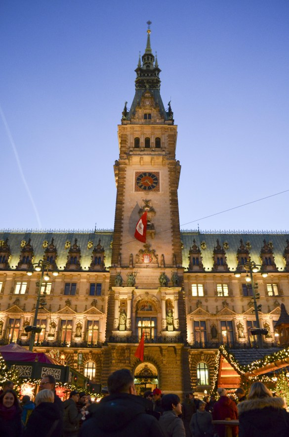 Christmas Markets in Hamburg, Germany | Study Abroad with Endless May