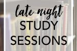 Surviving Late Night Study Sessions! Important for every college student.