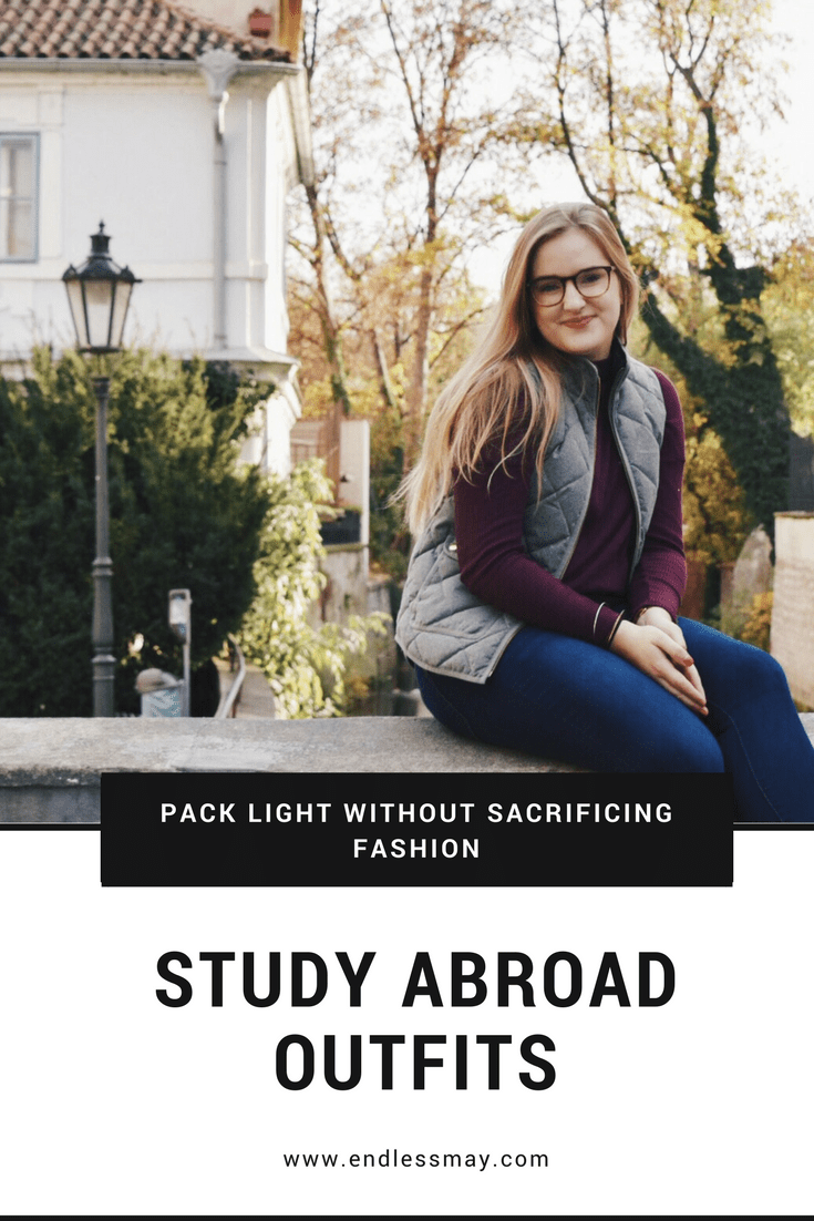 The best study abroad outfits--how to pack light without sacrificing fashion! #sp #studentuniverse