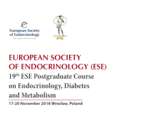 19th ESE Postgraduate Training Course in Endocrinology, Diabetes and Metabolism, Scandic Hotel, Wrocław, Poland, 17-20 November 2016