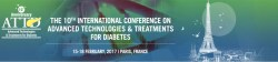 10th International Conference on Advanced Technologies & Treatments for Diabetes, Paris, France, 15-18 February, 2017