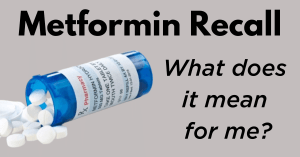 Metformin ER safety warning