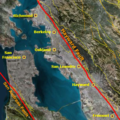hayward_fault_map