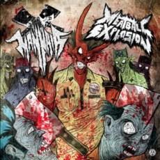 "Mannaia/Meatball Explosion - Split - 12"" Split Black"
