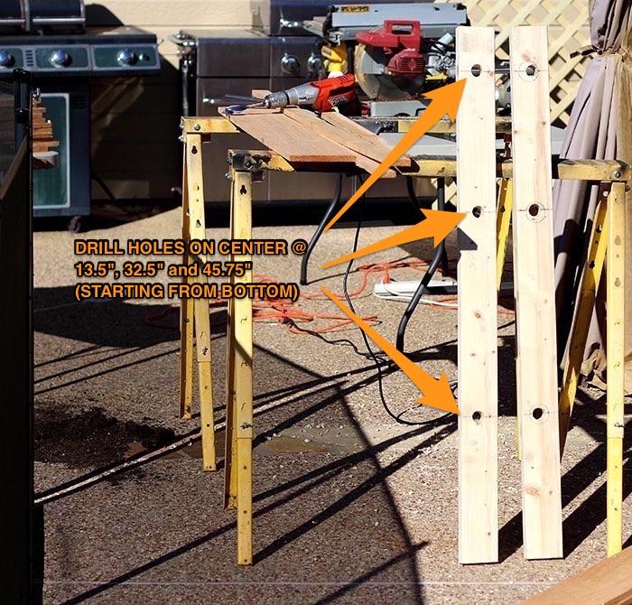 DIY Weight Tree, Bumper Plate Storage