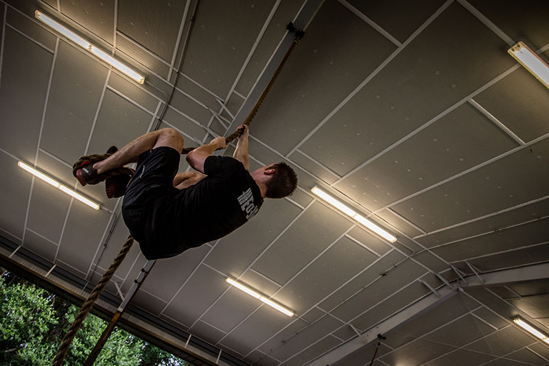 Weekly garage grind end of three fitness