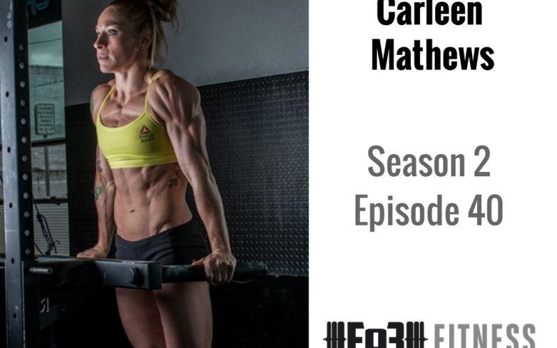 How to Flip the Switch with CrossFit Games Athlete Carleen Mathews
