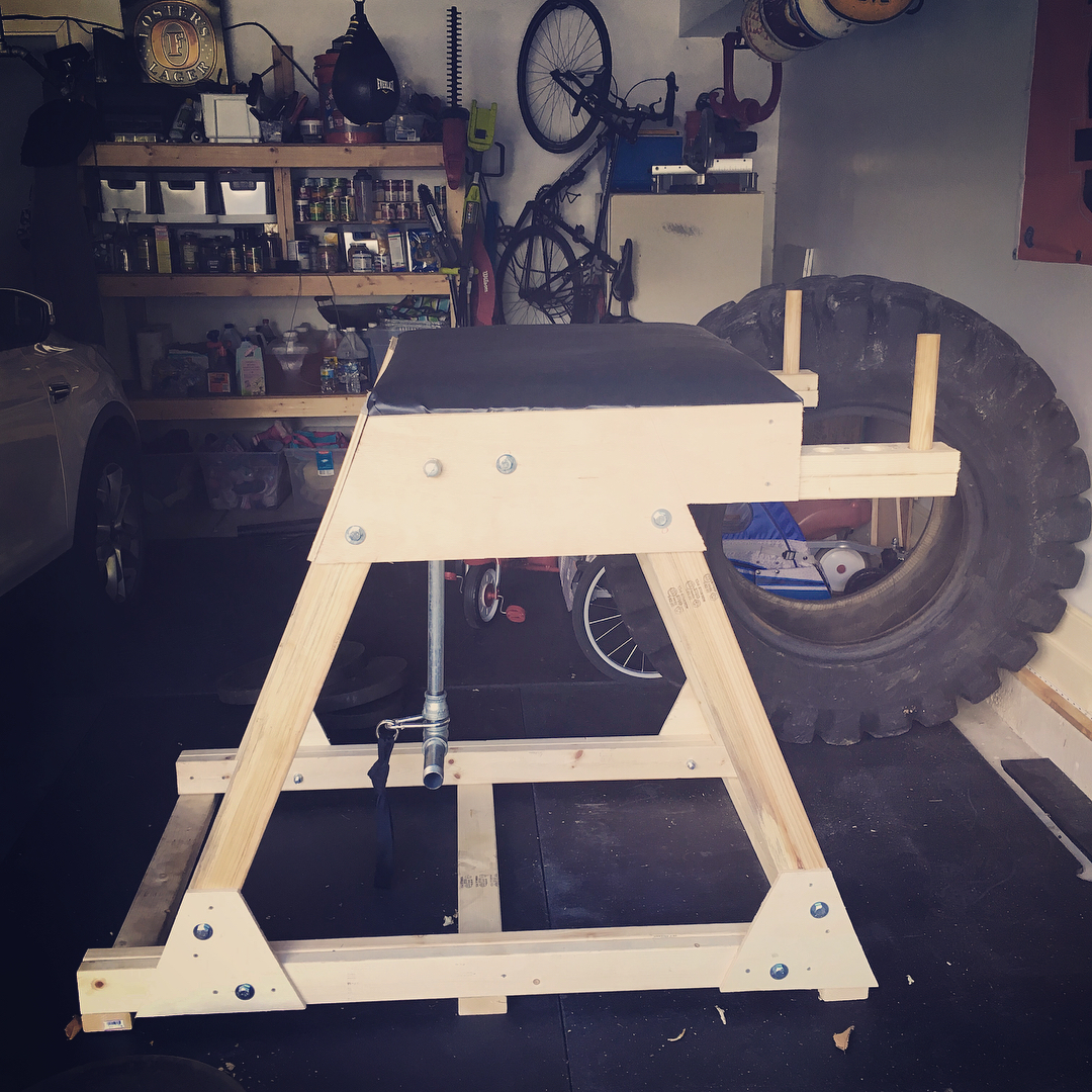 Diy reverse hyper tutorial for the garage gym athlete