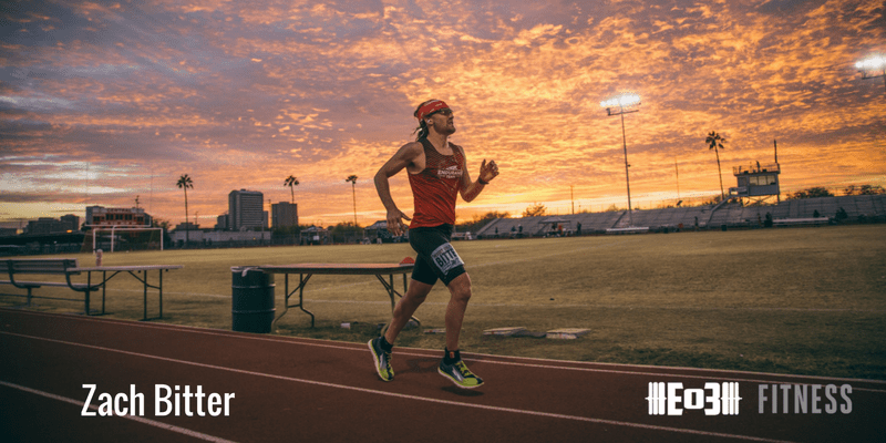 Ultra Marathons, Using a High-Fat/Low-Carb diet to Crush Endurance Training, and Mental Toughness with Zach Bitter