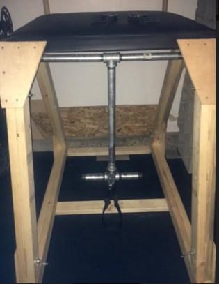 DIY Reverse Hyper, Garage Gym, Garage Gym Athlete, DIY, End of Three Fitness, DIY Garage Gym, Reverse Hyper