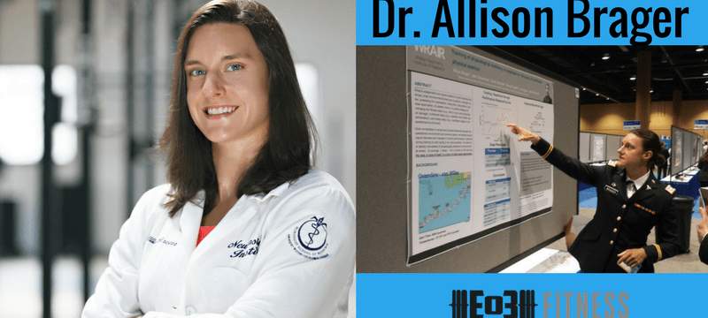 Dr. Allison Brager on Military Athletes, Sleep, Recovery and more!