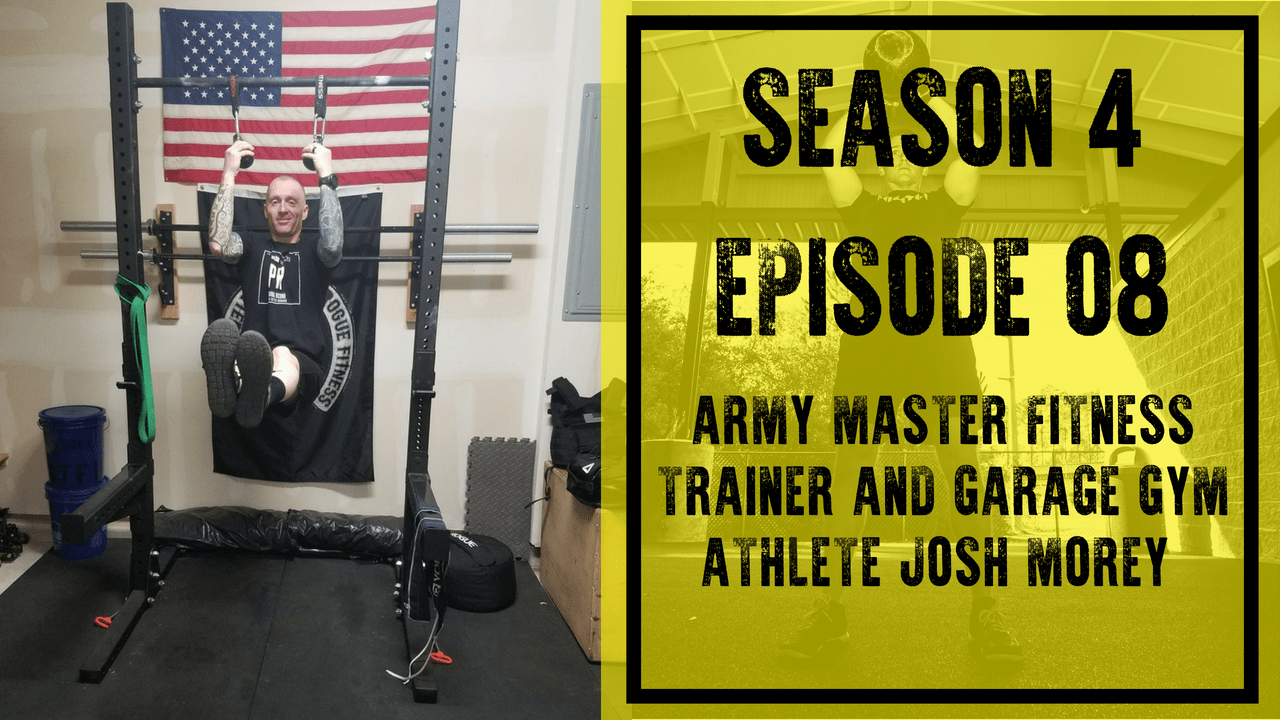 S e army master fitness trainer and garage gym athlete josh