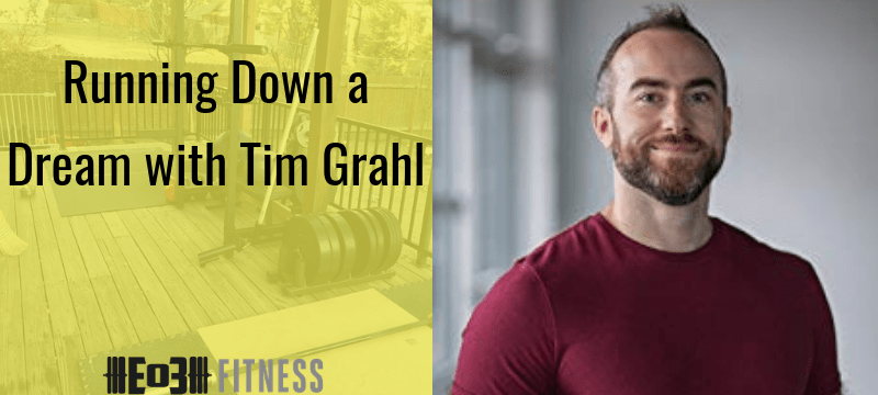 Running Down a Dream with Tim Grahl
