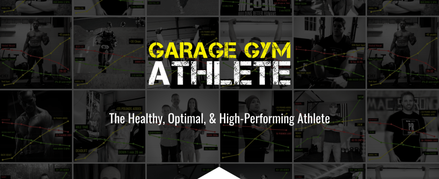 garage gym, garage gym athlete, end of three fitness, fitness, new cycles, healthy, optimal, and high performing athletes