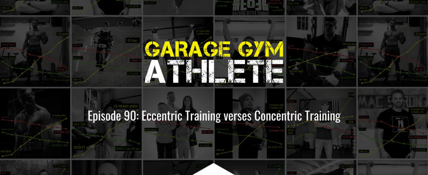 garage gym, garage gym athlete, end of three fitness, fitness, eccentric vs concentric training, meet yourself Saturday, EO3 5K, travel workouts